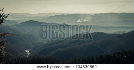Landscape like Mordor