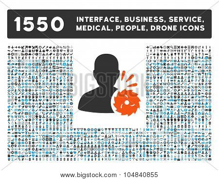 Body Execution Icon and More Interface, Business, Medical, People, Awards Vector Symbols