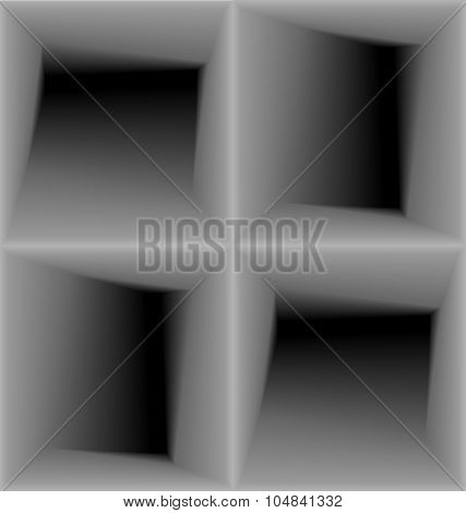Geometric 3d Seamless Pattern, Abstract Background