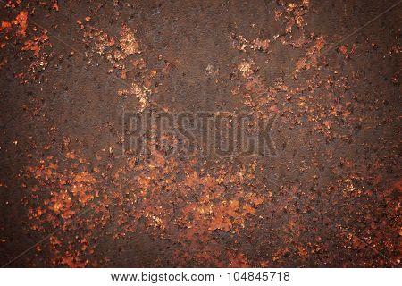 Rusty Corrosion Peeling Metal