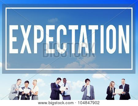 Expectation Hope Anticipate Predict Speculate Concept