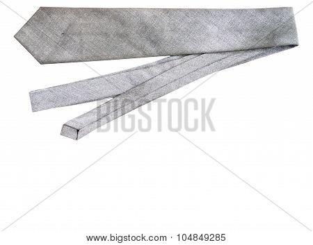 Dirty Gray Necktie