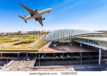 airport in Beijing china