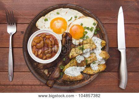 Tight Breakfast Baked Potatoes
