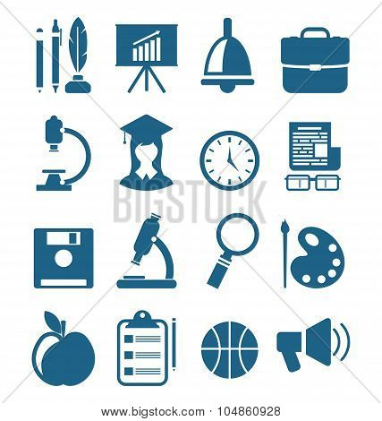 School Simple Icons