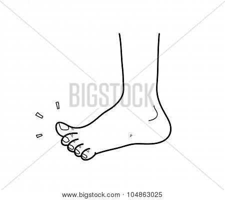 Clean Foot