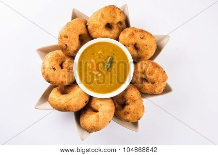 vada sambar, south indian food