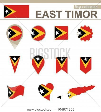 East Timor Flag Collection