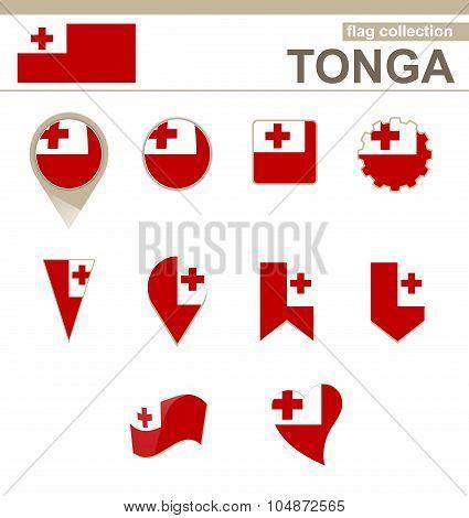 Tonga Flag Collection