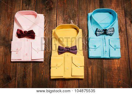 Set  Of Stylish New Bright Men's Shirts