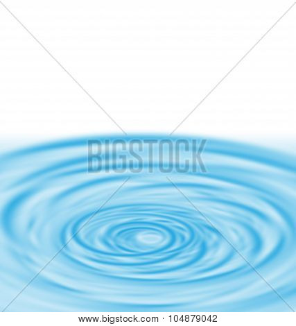 Water Twirl Blue Abstract Background