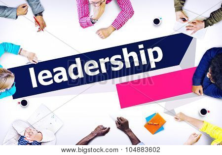 Leadership Chief Authority Management Director Concept