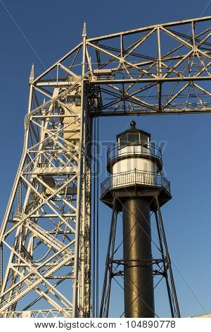 Duluth Inner Canal Lighthouse