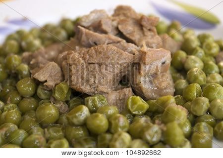 Veal Stew With Peas