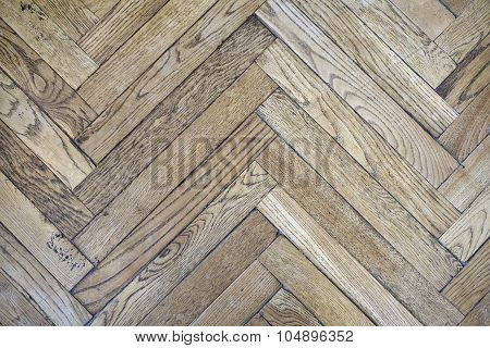 Ancient Fishbone Parquet.