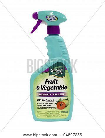 Bottle Of Schultz Fruit & Vegetable  Insect Killer