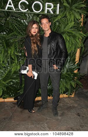 LOS ANGELES - OCT 6:  Jamie Kidd, Justin Price at the Club Tacori Riviera at the Roosevelt at the Roosevelt Hotel on October 6, 2015 in Los Angeles, CA
