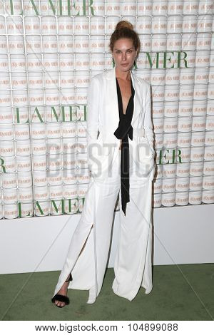 LOS ANGELES - OCT 13:  Erin Wasson at the La Mer Celebration Of An Icon Global Event at the Siren Studios on October 13, 2015 in Los Angeles, CA