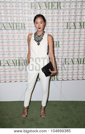 LOS ANGELES - OCT 13:  Chriselle Lim at the La Mer Celebration Of An Icon Global Event at the Siren Studios on October 13, 2015 in Los Angeles, CA