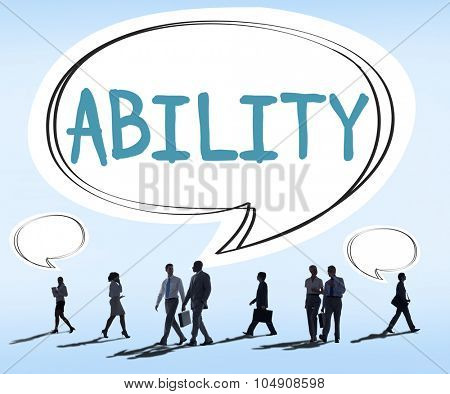 Ability Skilled Strategy Talent Vision Concept