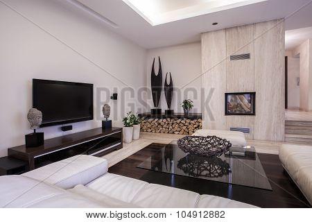 Cozy Nook With Television