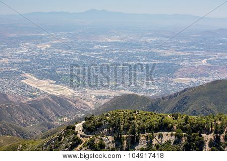 View over San Bernardino
