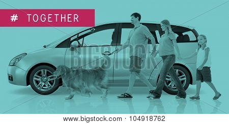 Multi Purpose Vehicle Car Family Lifestyle Concept