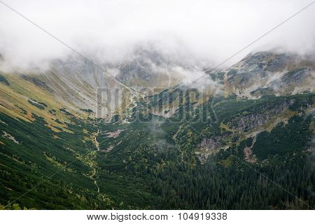 mountain view at Tatras