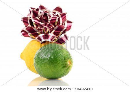Urlaub Zitrone und Limette