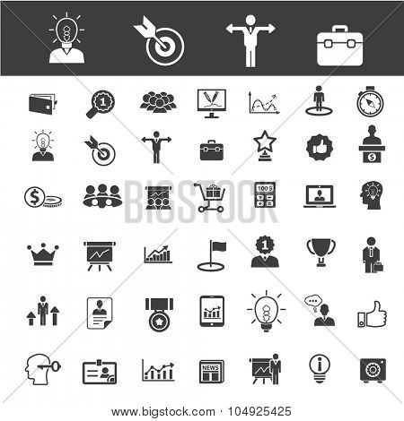 business, marketing, sales, management icons