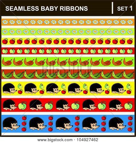 Baby Ribbons Horizontal