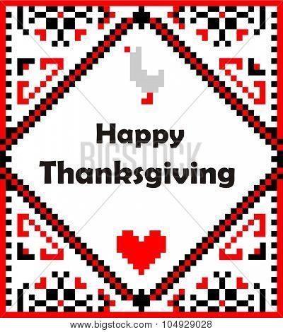 Napkin for thanksgiving day