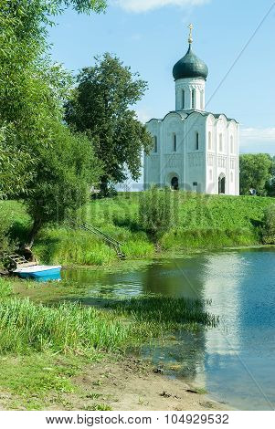 Church Of Intercession On Nerl River. Bogolyubovo