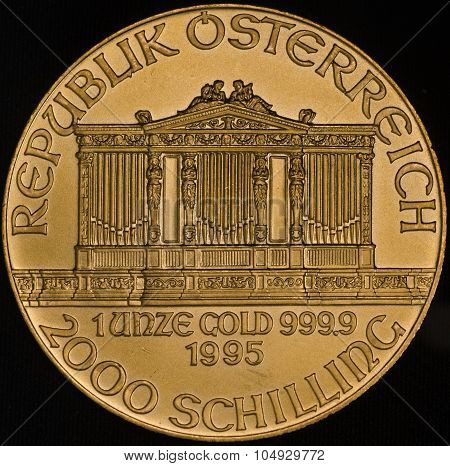Austria Philharmonic Gold Coin (fine)