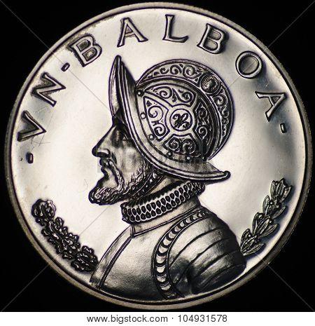 Panama Silver Coin (obverse)