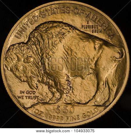 Us Fine Gold Buffalo Coin (1 Ounce)