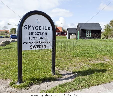 SMYGEHUK, SWEDEN ON MAY 16