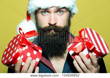 Man With Christmas Presents