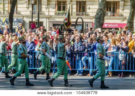 Legionarios Military Parade