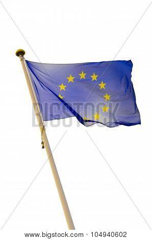 European Union Flag Isolated