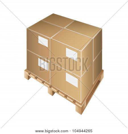 pallet box transportation packing