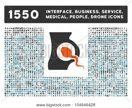 Artificial Insemination Icon and More Interface, Business, Medical, People, Awards Glyph Symbols