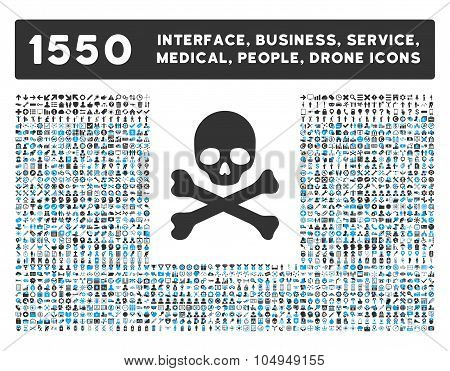 Death Icon and More Interface, Business, Medical, People, Awards Glyph Symbols