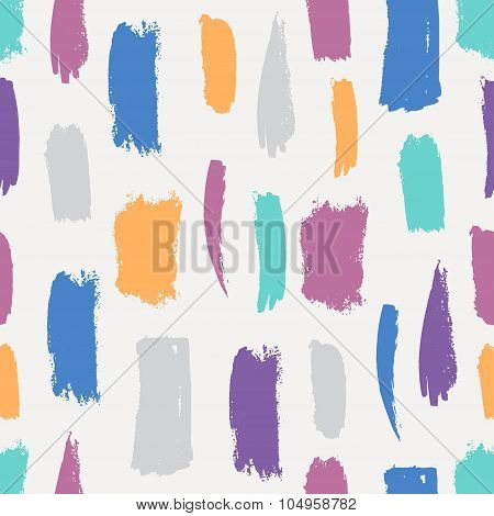 Seamless brush pattern