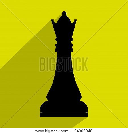 Chess game icon design,