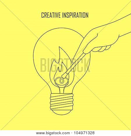 Creative Inspiration Concept
