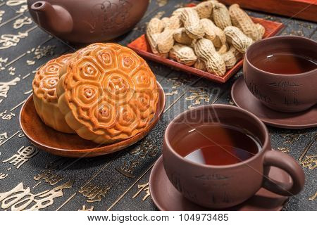 Moon Cakes For The Chinese Mid-autumn Festival
