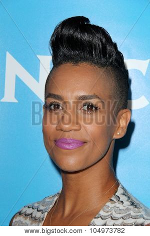 LOS ANGELES - AUG 12:  Dominique Tipper at the NBCUniversal 2015 TCA Summer Press Tour at the Beverly Hilton Hotel on August 12, 2015 in Beverly Hills, CA