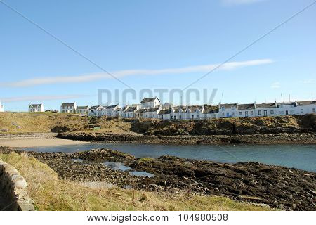 Portnahaven Village Islay Scotland