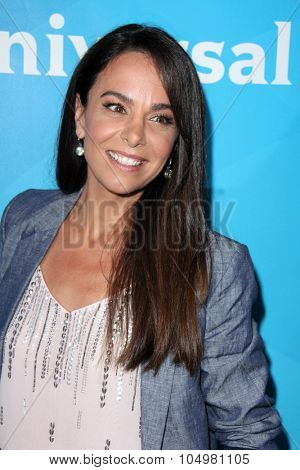 LOS ANGELES - AUG 12:  Michele Lepe at the NBCUniversal 2015 TCA Summer Press Tour at the Beverly Hilton Hotel on August 12, 2015 in Beverly Hills, CA